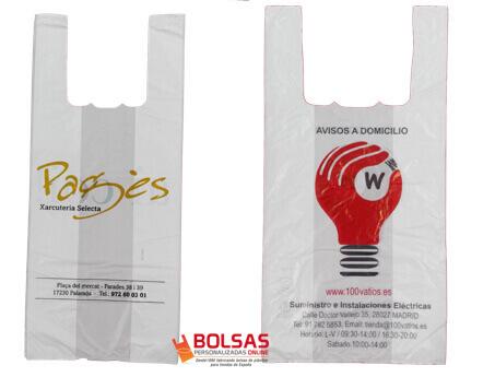 Bolsas camiseta Impresas