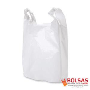 Bolsas blancas Camiseta para tiendas
