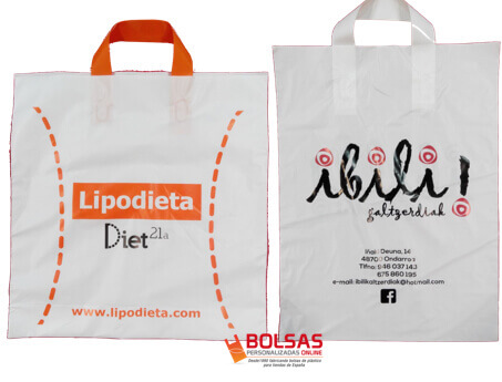 Bolsas asa lazo personalizadas Sevilla
